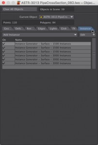 How to use Instances in LightWave 3D - Instance Generators