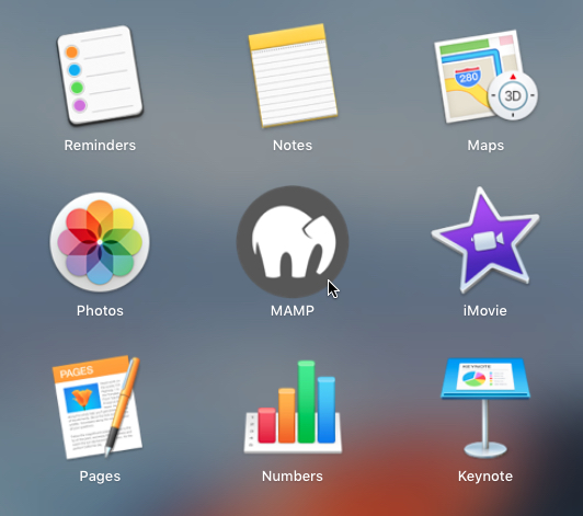 MAMP Icon in Launchpad - How to Copy a Live WordPress Website to a Local Mac-