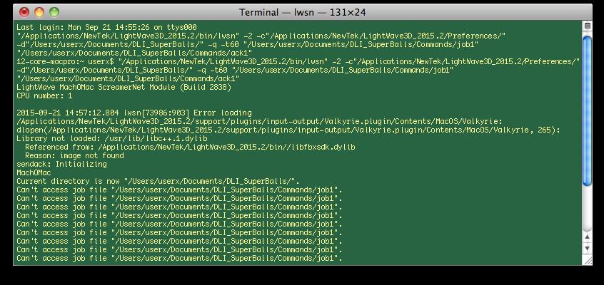LightWave 3D ScreamerNet LWSN Command Line Parameters for ScreamerNet LWSN on Mac OS X & Windows – Mastering LightWave 3D ScreamerNet LWSN