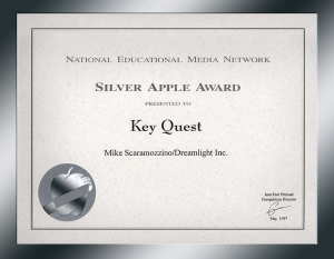National Educational Media Network - Silver Apple Award - Scaramozzino - KeyQuest