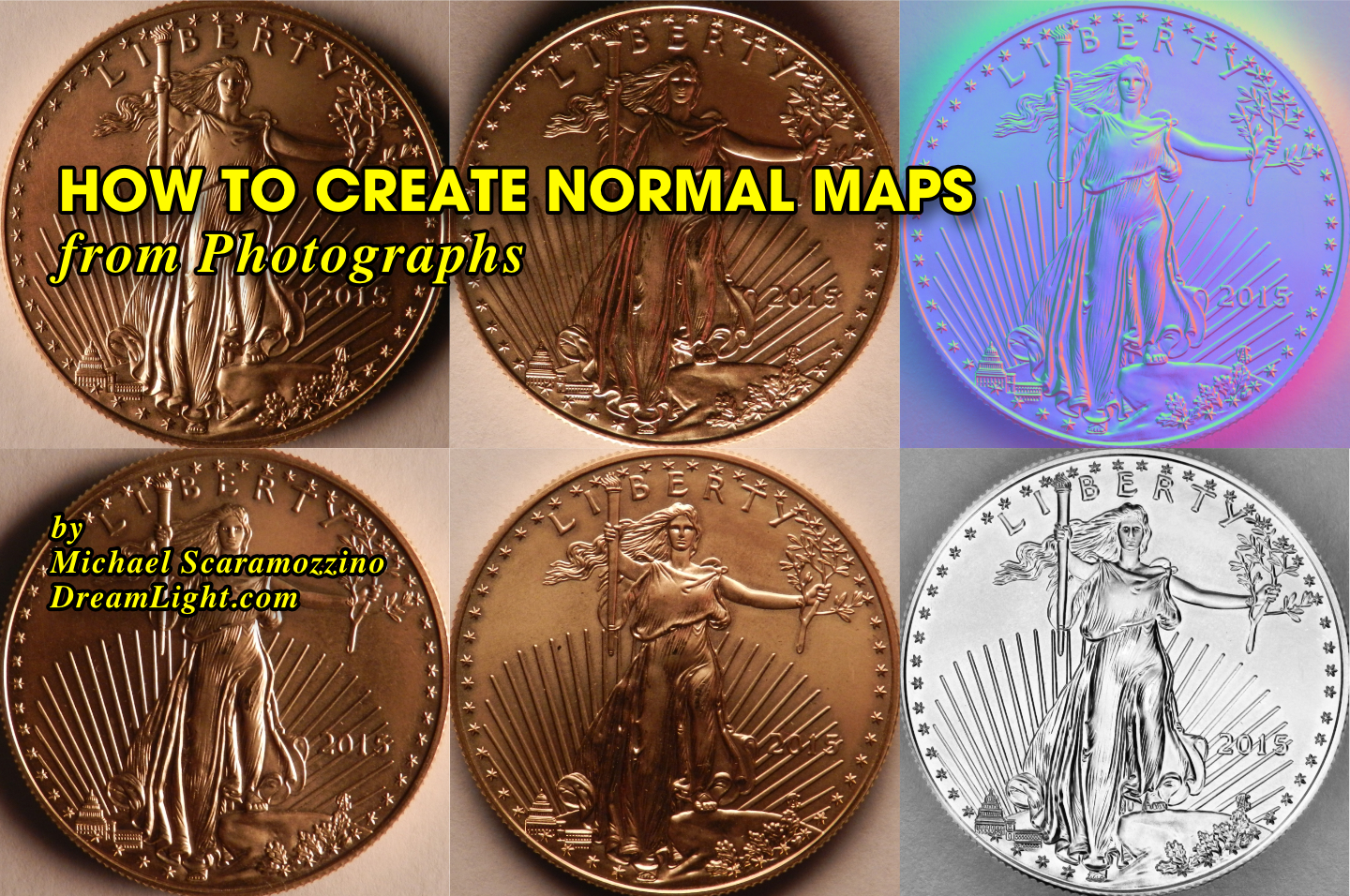 How to Create Normal Maps from Photographs - DreamLight com