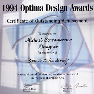 Optima Design Award - Scaramozzino