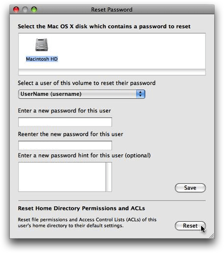 How to Fix Mac OS X File Permissions for the Entire Home Folder