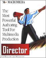 Macromeida Director Cover Design