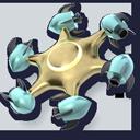 DreamLight Constellation 3D Icon Logo